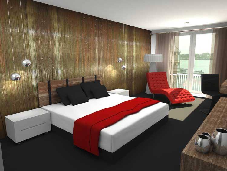 3D Rendering Model - Bedroom
