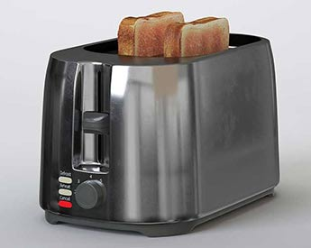 Product Rendering for Toaster