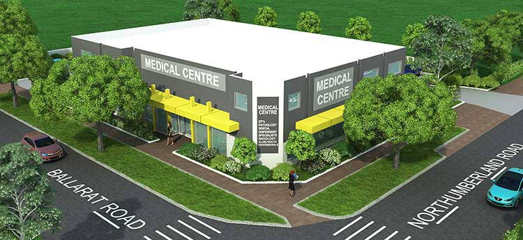 Rendered view for Building Exterior