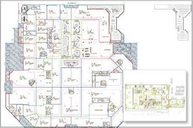 2D to BIM Conversion of a Commercial Complex
