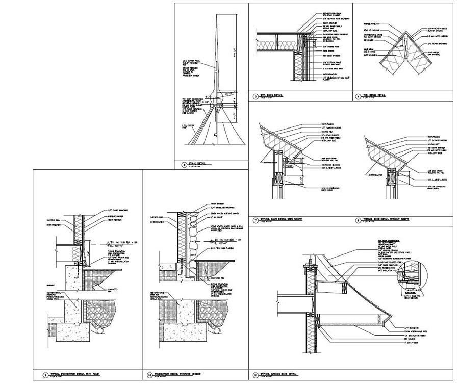 Exterior Architectural Detailing in CAD