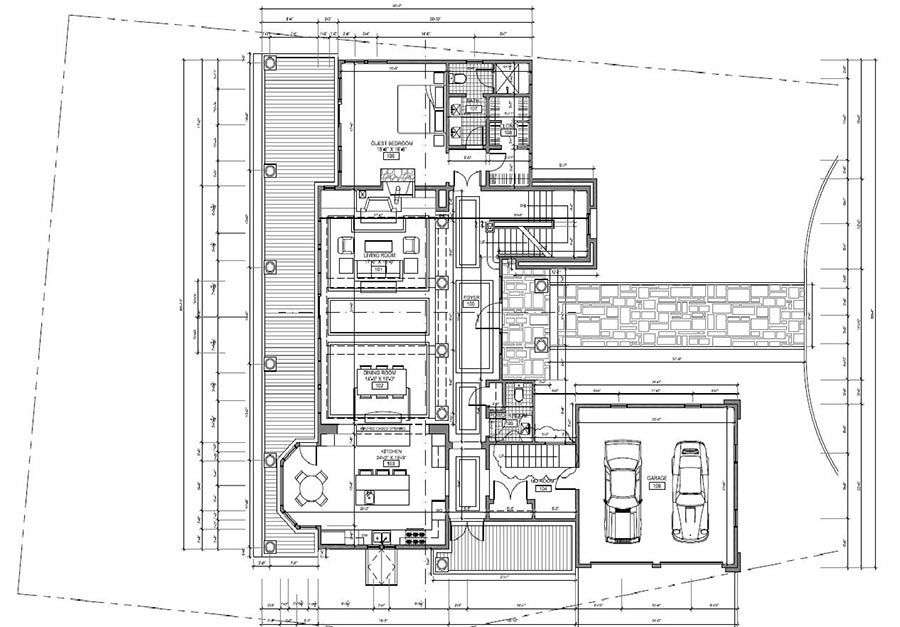 Level Plan in CAD