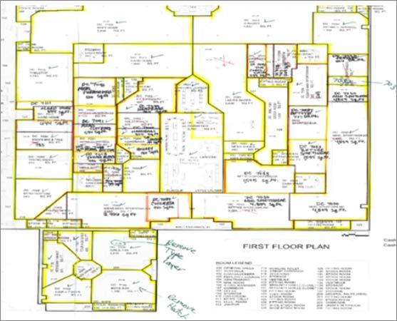 2D to BIM Conversion of a Multistory Commercial Complex in Cincinati, Ohio