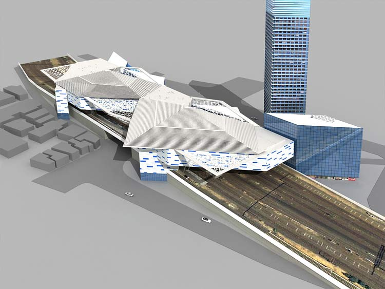 Designed Mixed Use Building above existing Rail Yard of 210 Million sq. ft. in Australia