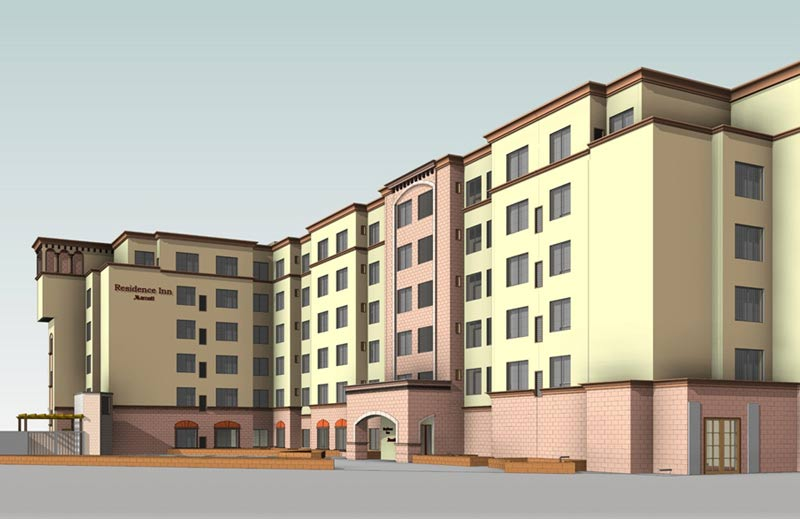 Structural & Construction Plans in Revit for a Hospitality Construction Giant, USA
