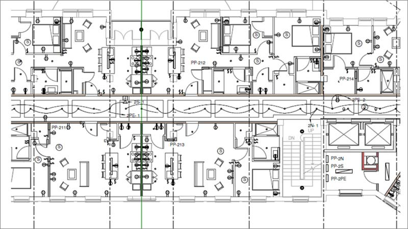 BIM-MEP Model with a High Level of Detailing for Residential Building in USA