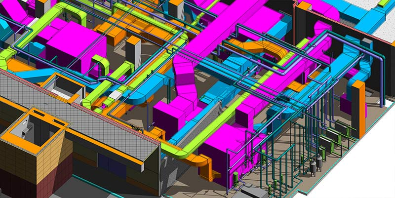 MEP BIM Clash Detection Solutions for an International Airport in Middle East