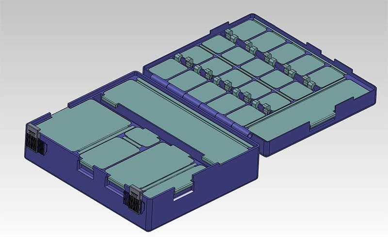 Prototype Model of an Emergency Medical Box using Rapid Prototyping, UK