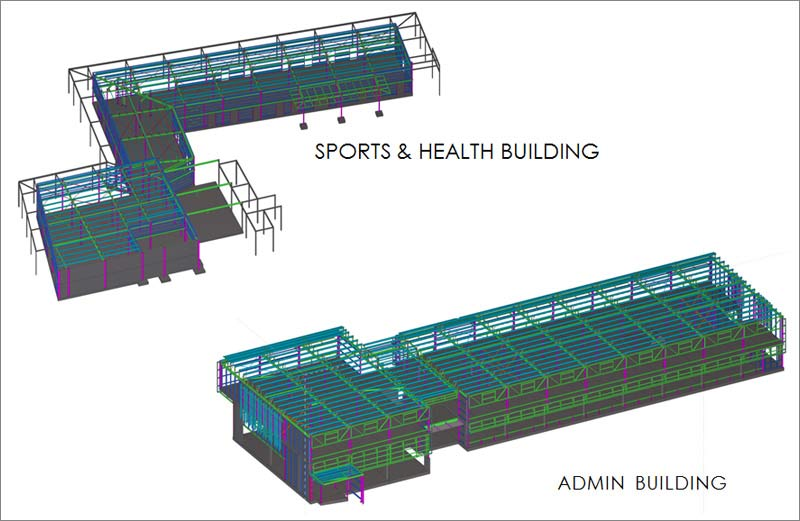On-site Structural Steel Detailing for an Immigration Detention Center in Australia