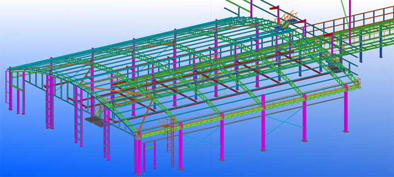 Structural Steelwork Project for a Railway Depot in UK