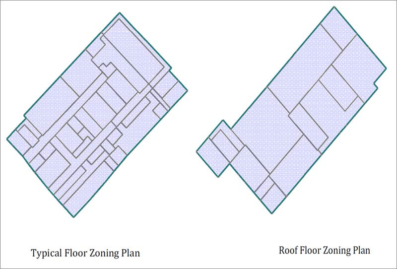 Creation of HVAC Zones in eQuest for a Hospital Building, Dubai