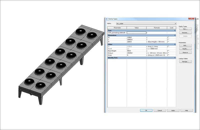 Revit Families for Manufacturing & Installation of MEP Equipments in Europe