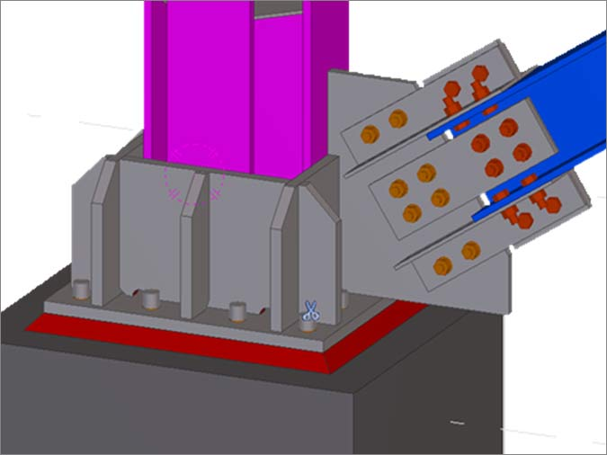 Analysis of the Steel Structure Supporting the Boiler for a Cement Manufacturer, UAE