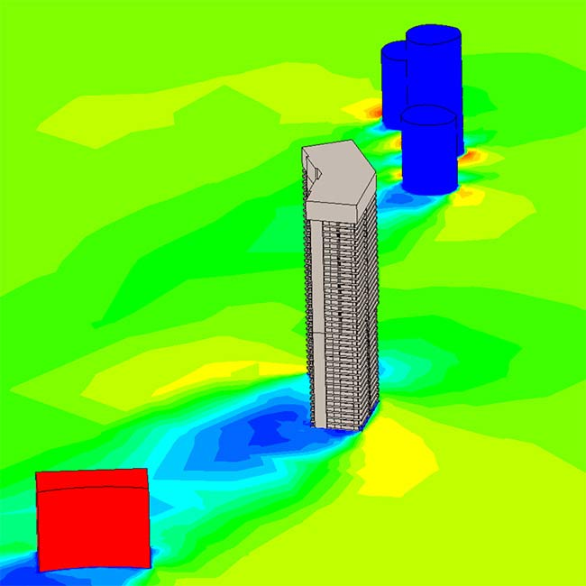 Wind Driven Rain CFD Analysis for Façade Systems in High Rise Buildings