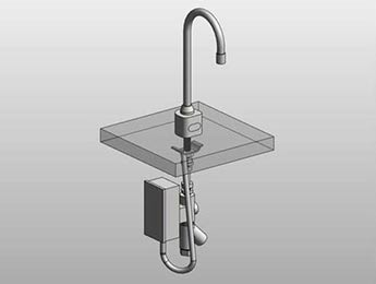 Revit Family Creation - Kitchen Sink