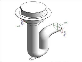 Revit Family for Plumbing Manufacturer