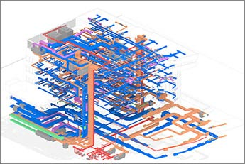 MEP Coordination for Hospital Building