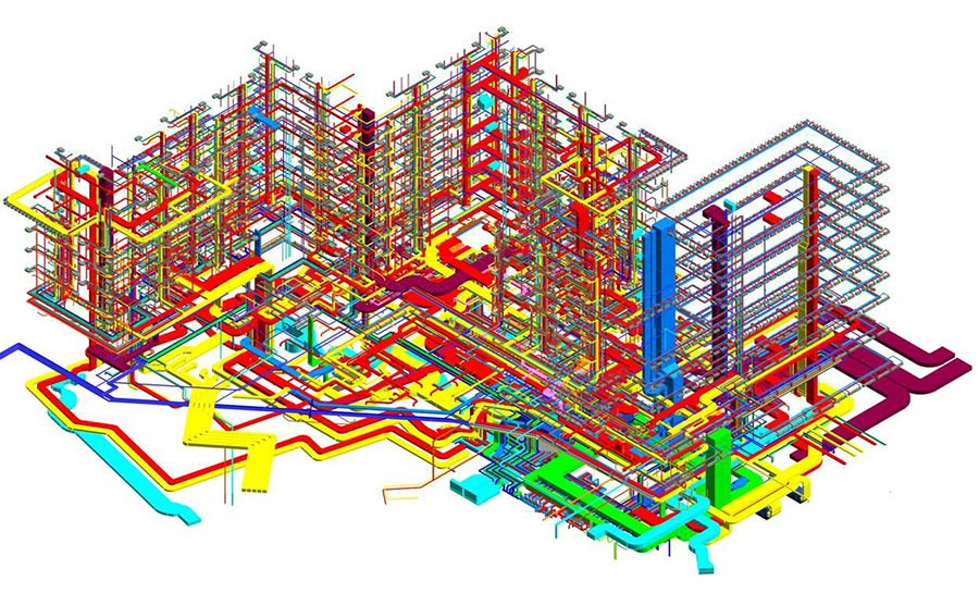 MEP Coordination for Mixed use Building