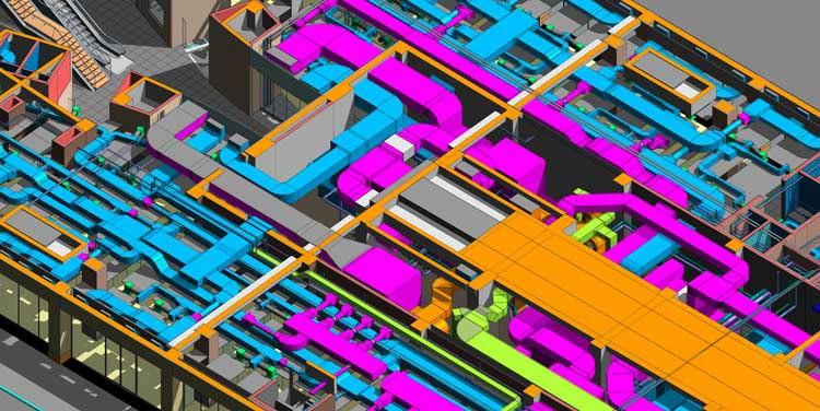 MEP 3D Model for Builder