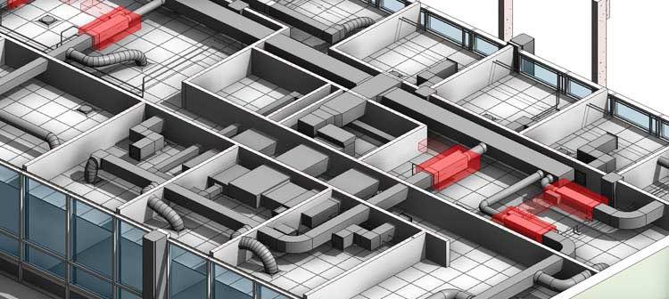 MEP 3D Model for Mechanical Engineer