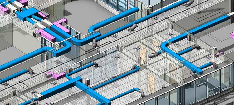 MEP 3D Modeling LOD 300