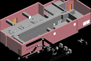 Point Cloud to BIM for College Avenue