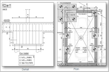 Rebar Detailing for a Residential Building Complex