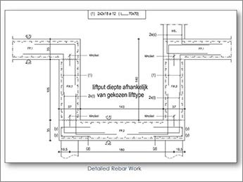 Rebar Detailing: Rebar Shop Drawings & Estimation Services
