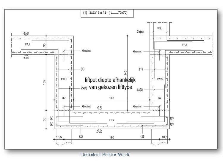 Detailed Rebar Work