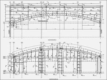 Steel General Arrangement Drawing