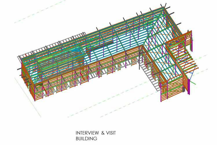 Building Structural View using Revit