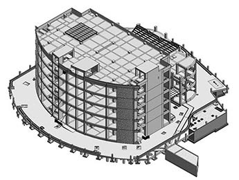 3D Structural Model of Data Center