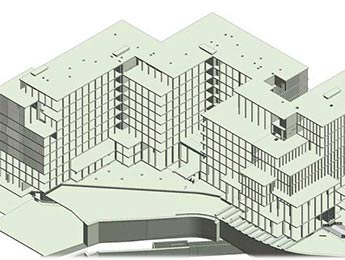 3D Structural Model of Multistory Building