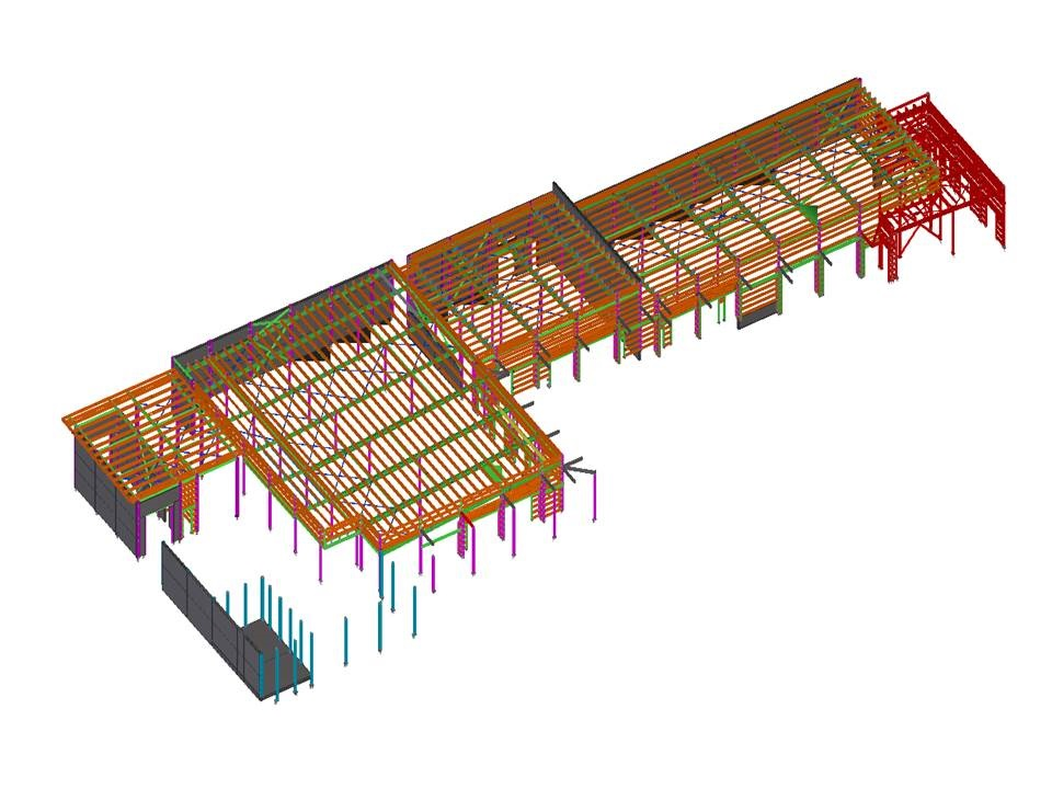 Benefits of Outsourcing Model-Based Structural Steel Detailing